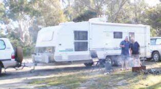 Grey nomads in Tasmania