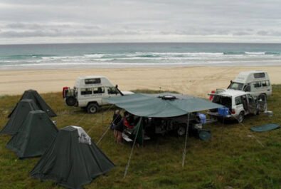 Camping for grey nomads over Easter