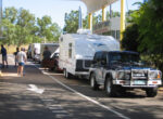 Caravan park decline, grey nomads, queues