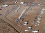 The 'plane boneyard' at the Mojave Desert, California  ... is this the future for Alice Springs? Photo: Alan Radecki
