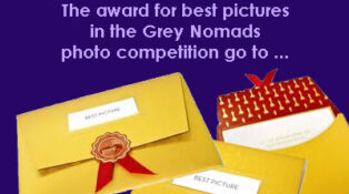 Grey nomads Let There Be Light photo competition